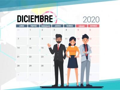 CRONOGRAMA CIERRE DE ACTIVIDADES 2020 FEDINOR LTDA